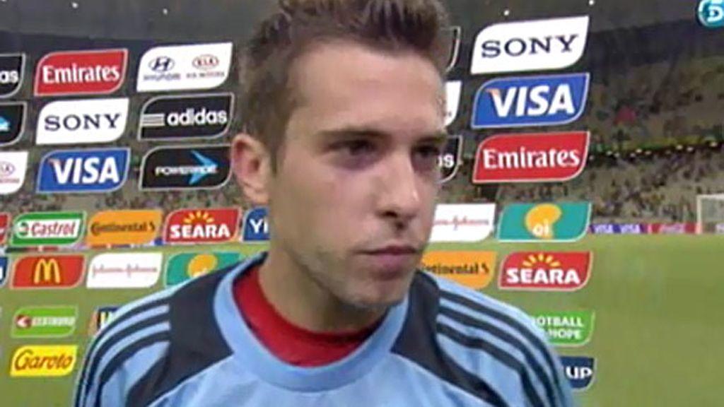 "J. Alba: ""Será diferente a la final de la Euro"""