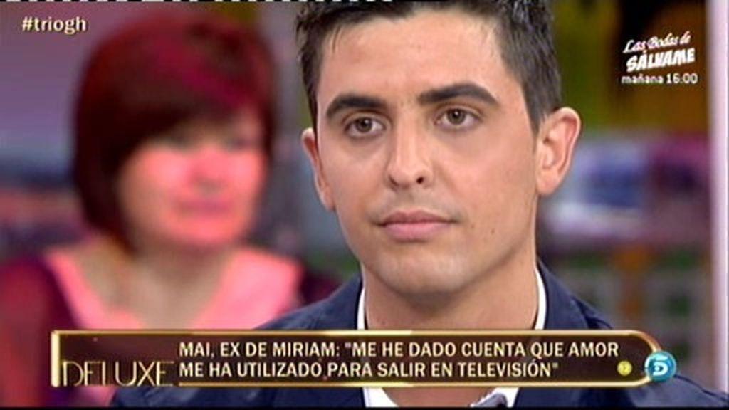 """Mai: """"No pasó nada con Amor"""""""
