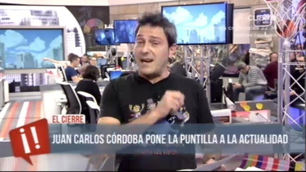 El cierre de Juan Carlos Córdoba (28/01/13)