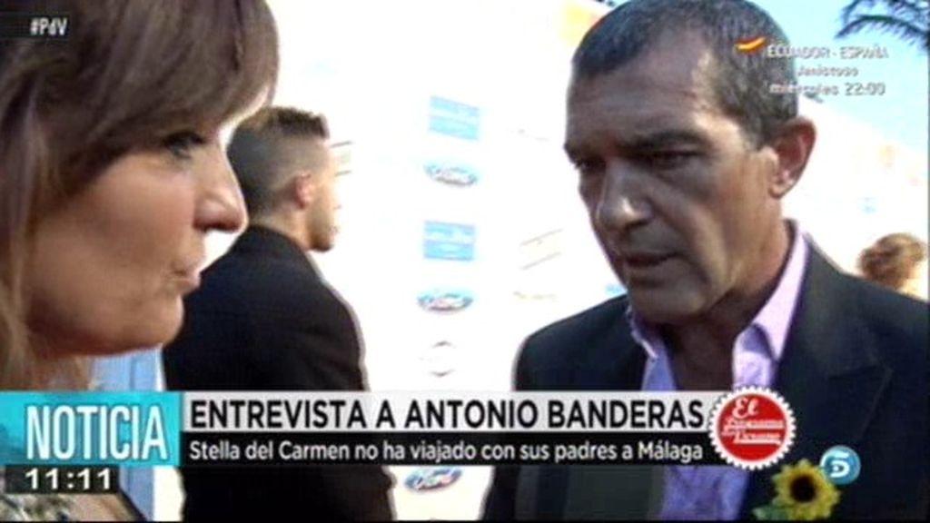 """Antonio Banderas: """"Quiero a mi país con sus defectos y sus virtudes"""""""