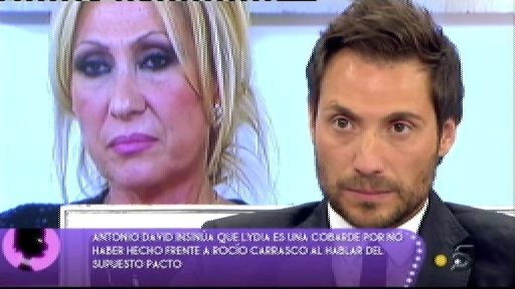 """Antonio David:""""Yo quiero a mis hijos. Que el dinero se lo quede Rocío Carrasco"""""""