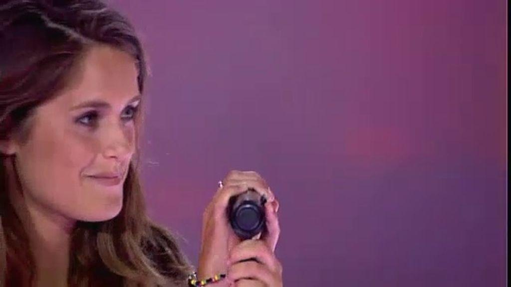 La actuación de María: 'You're beautiful'