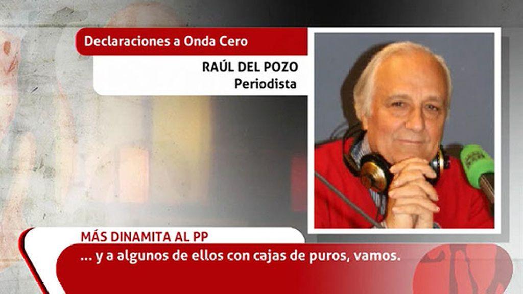 Raúl del Pozo publica que Bárcenas conservaría 'recibís' de pagos