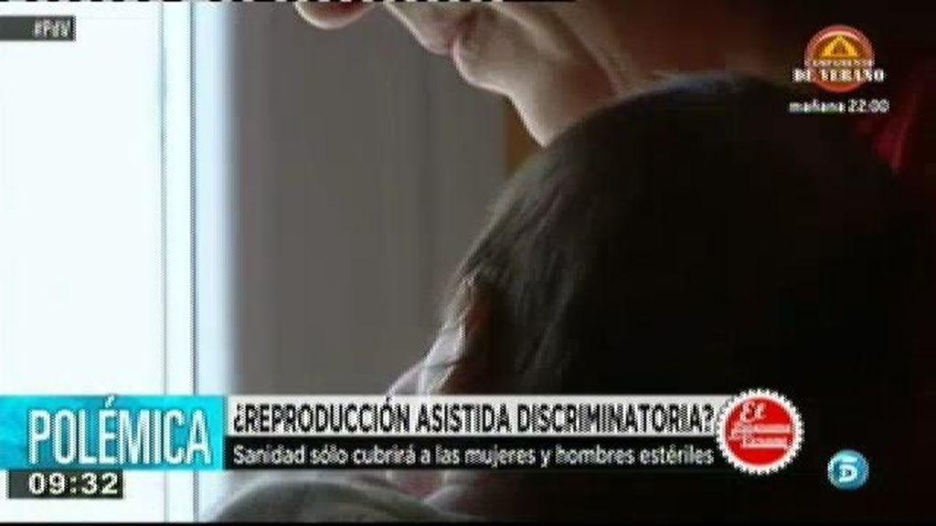 Sanidad sólo cubrirá la reproducción asistida a mujeres estériles