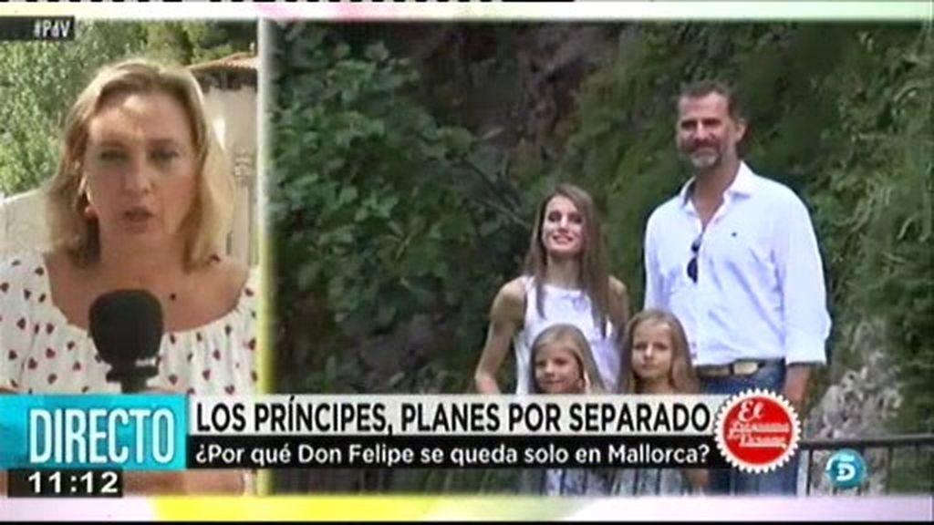 ¿Qué ocurre entre los Príncipes de Asturias?