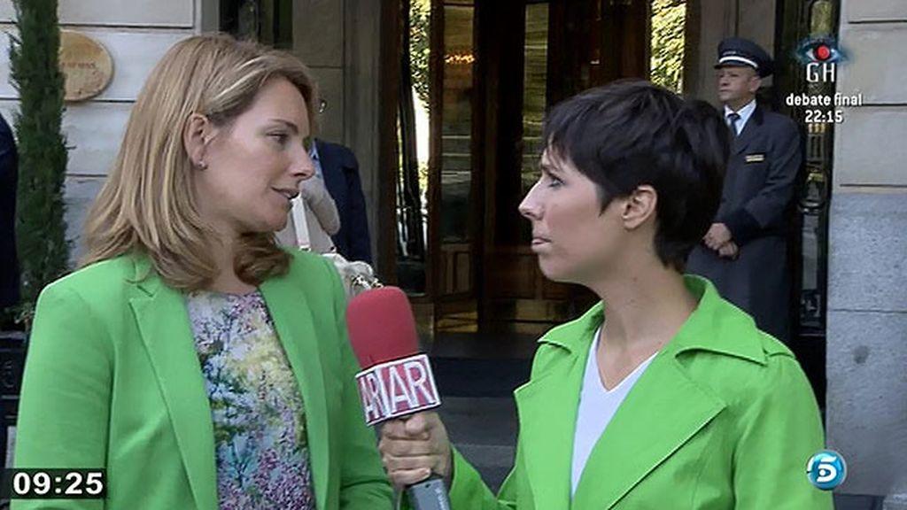 """Arantxa Quiroga: """"Algunos nos jugábamos la vida y otros han estado para otras cosas. Es vomitivo"""""""