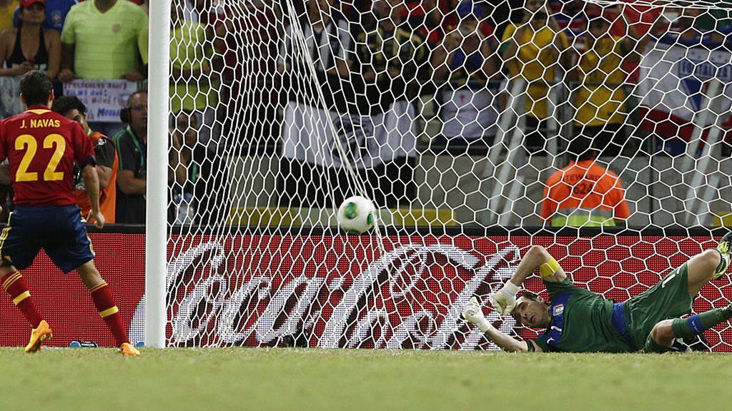 España 7-6 Italia (penalti de Navas)