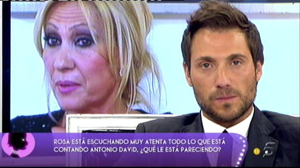 "Antonio David: ""Antes quería a Rosa Benito. Hoy no"""