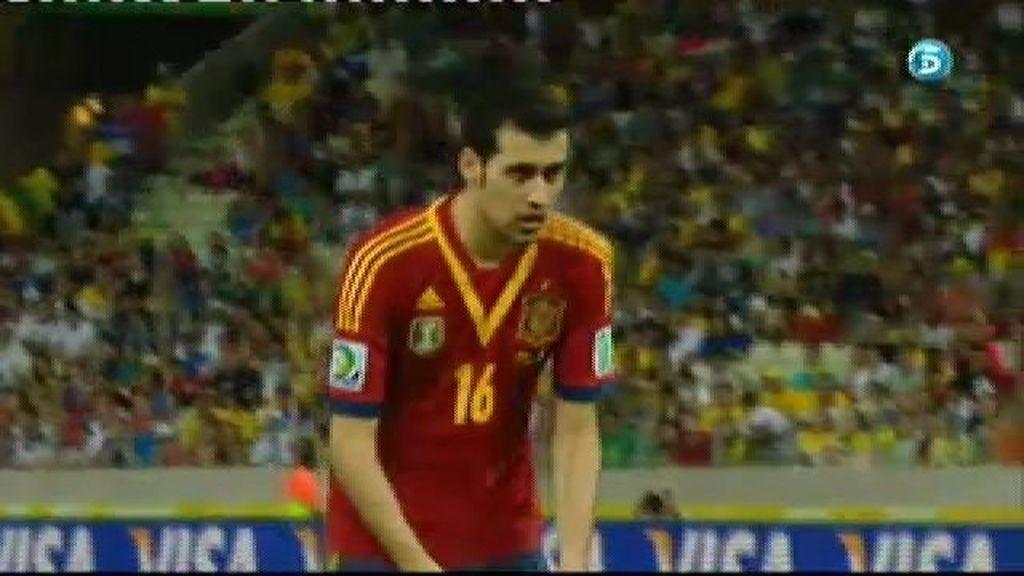 España 6-6 Italia (penalti de Busquets)
