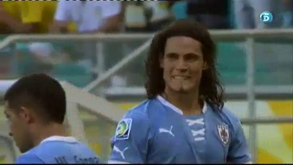 Gol: Uruguay 1-1 Italia (min.58)