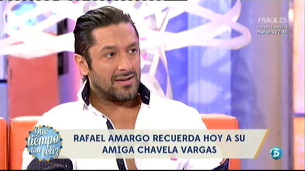 'El amor amargo de Chavela', el primer documental de Rafael Amargo