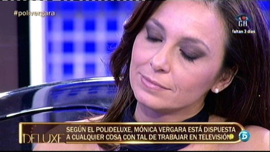 Mónica Vergara está dispuesta a cualquier cosa con tal de trabajar en televisión