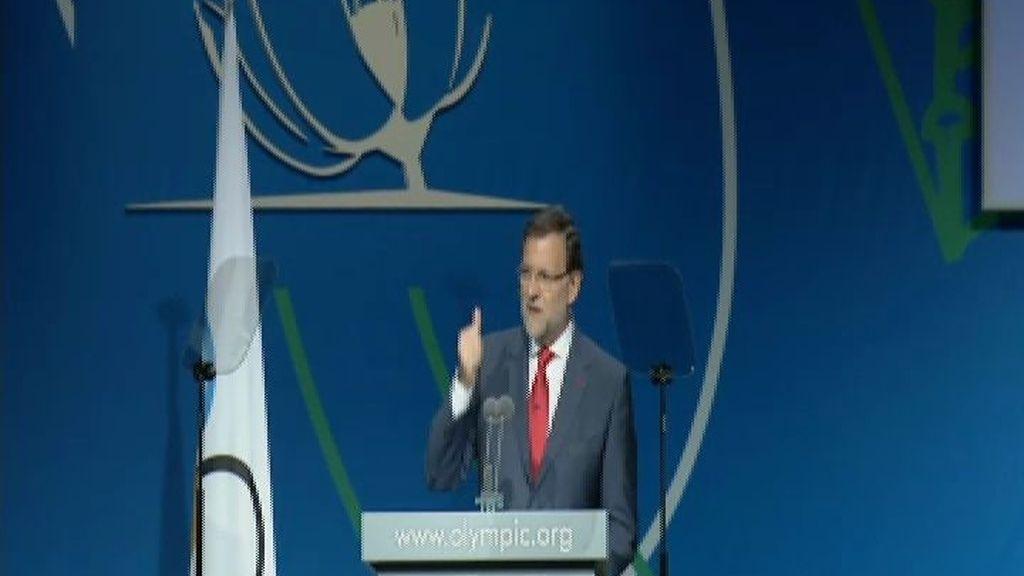 Rajoy defiende ante el COI la candidatura de Madrid 2020