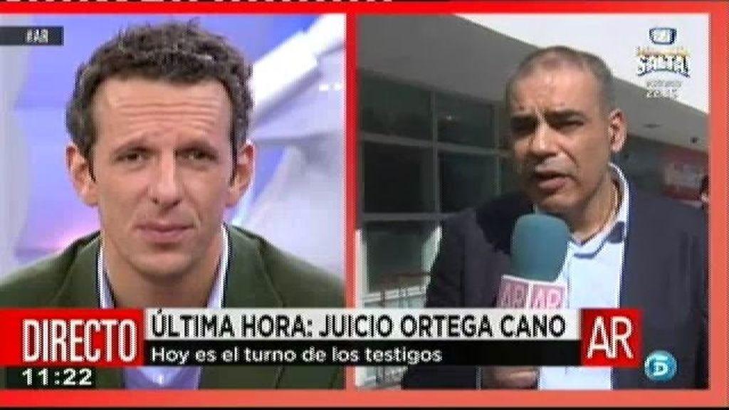 El médico no apreció ninguna sintomatología de que Ortega hubiera bebido