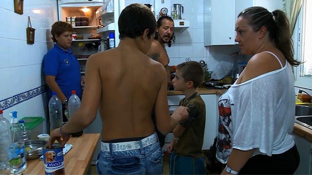 Vídeo inédito: Caos en casa de Juan Carlos