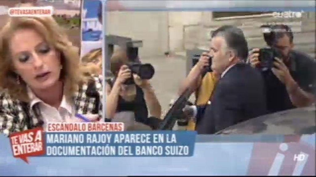 Rajoy, salpicado por Bárcenas