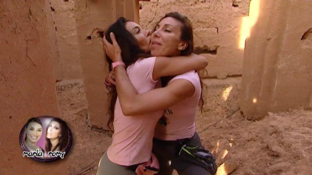 María y Romy Abradelo, eliminadas