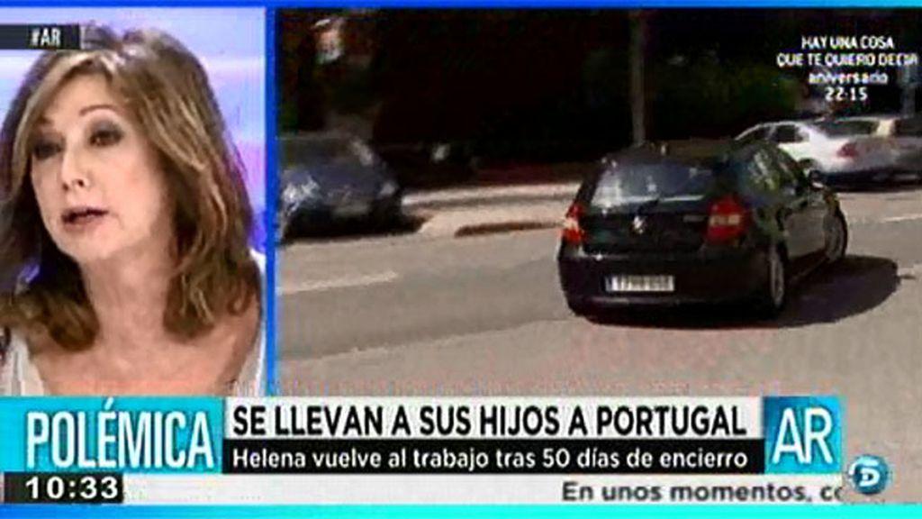 Ana Rosa Quintana se enfada con José Cabrera