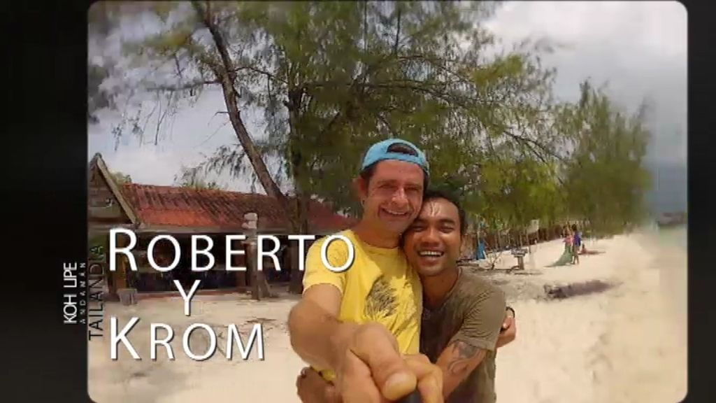 Roberto se vino a Koh Lipe por amor