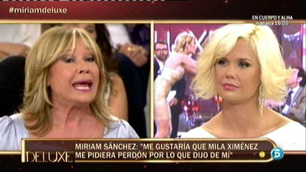"""Miriam: """"Me gustaría que Mila me pidiera perdón por lo que dijo de mi hija"""""""