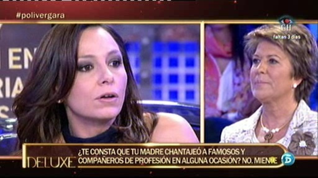 Mayca Vergara extorsionó a compañeros