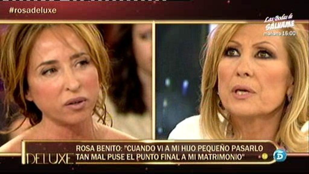 """Rosa Benito: """"Ahora estoy sola"""""""
