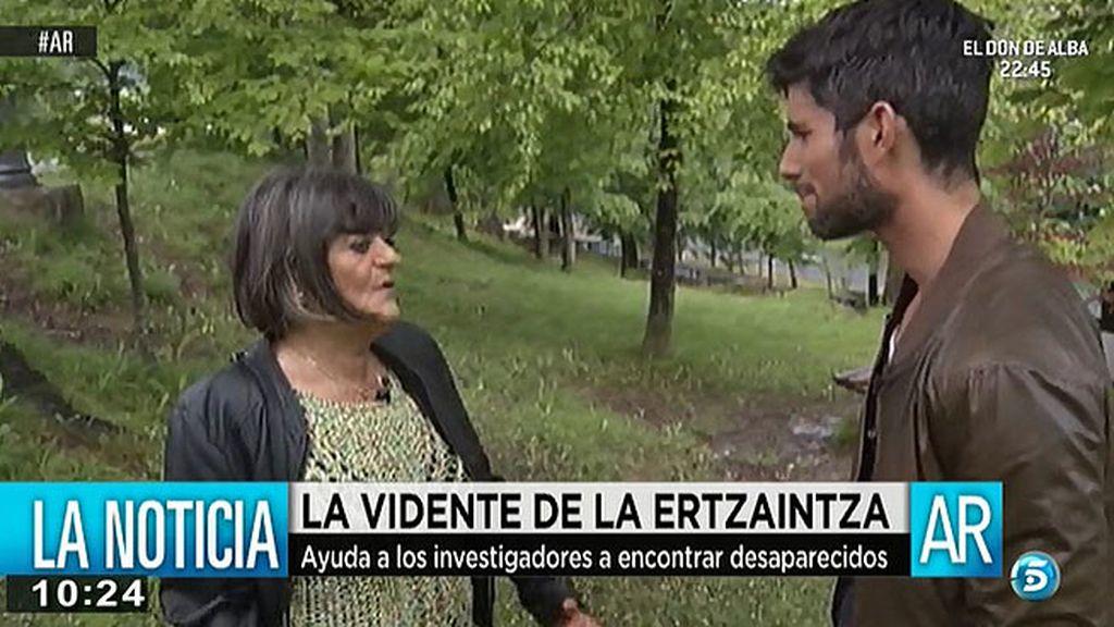 'El programa de Ana Rosa' entrevista a la vidente que buscó a Marta del Castillo