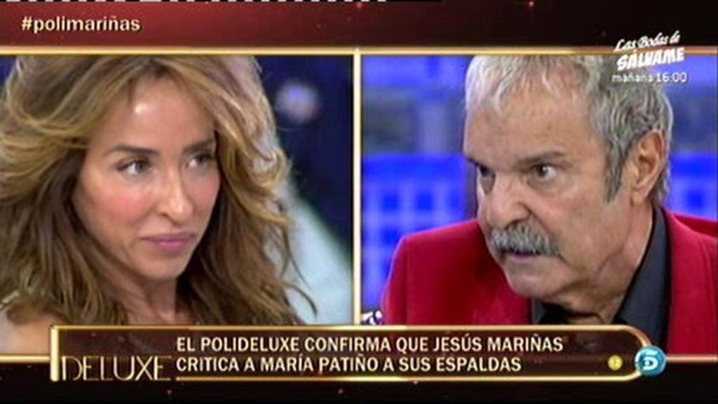 Mariñas critica a María Patiño a sus espaldas