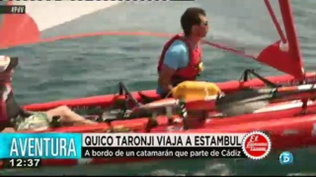 Quico Taronjí viaja a Estambul en un catamarán