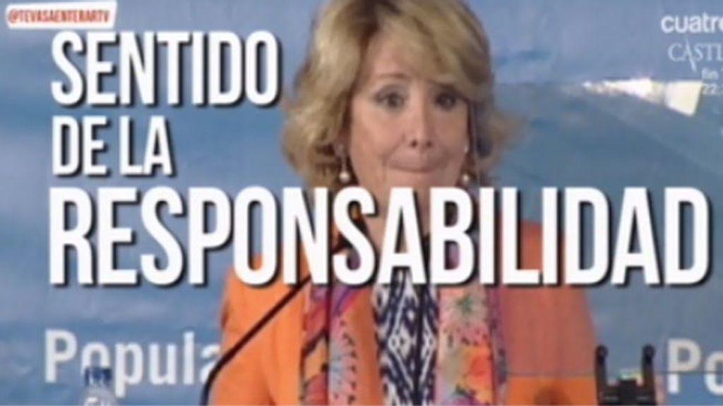 Aguirre aprovecha que le conceden un premio para atacar a sus compañeros