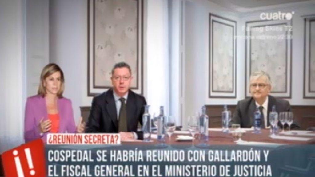 La reunión a tres de Cospedal, Torres Dulce y Gallardón