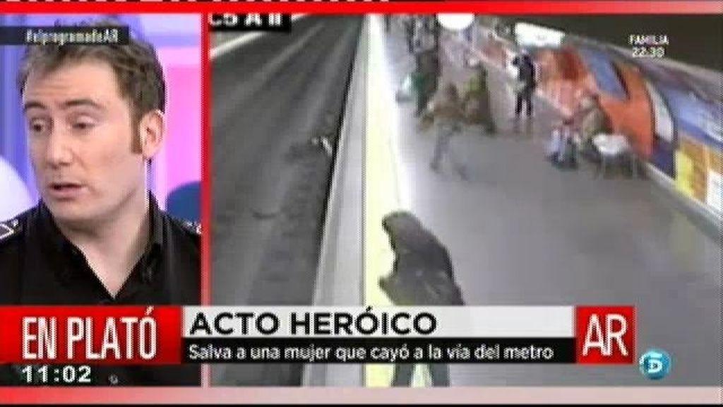 """Rubén: """"Cuando la cogí fui consciente de que no venía el tren por el otro lado"""""""