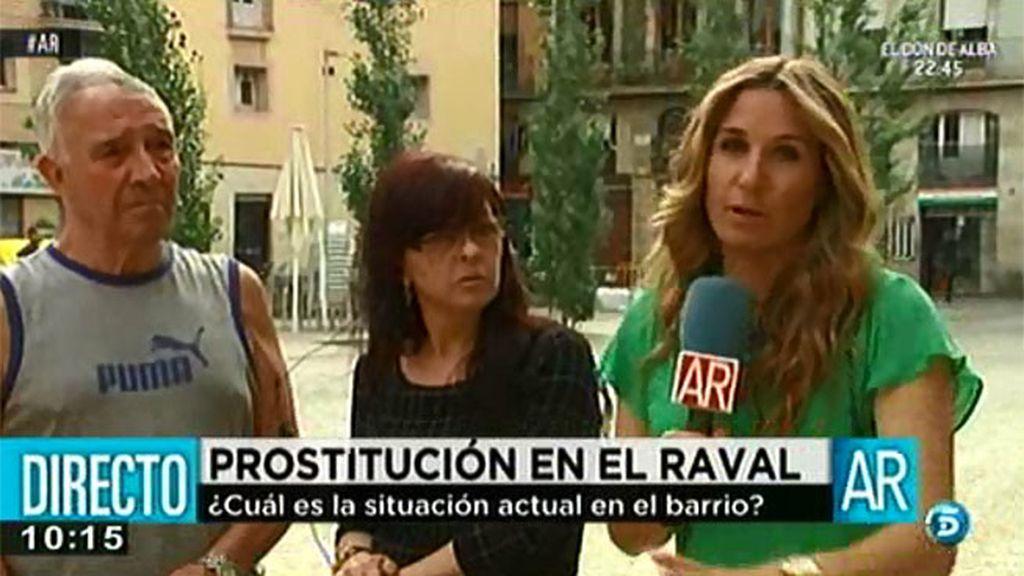 Las prostitutas del Raval se quejan de la presión policial