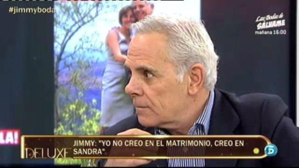 """Jimmy: """"Hago lo que puedo para tener hijos con Sandra"""""""