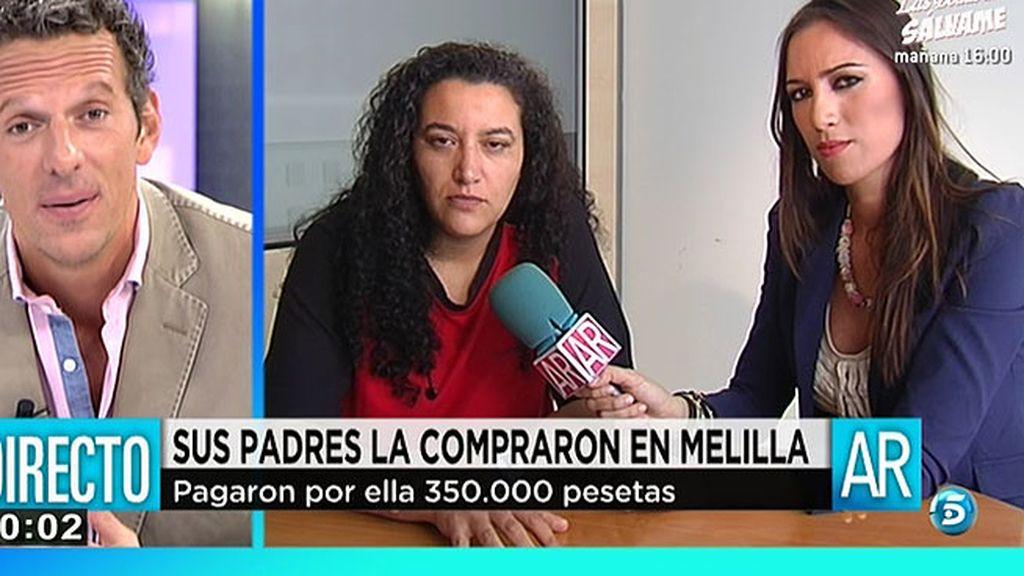"""Mari Carmen: """"Las familias pensaban que hacían era una adopción"""""""