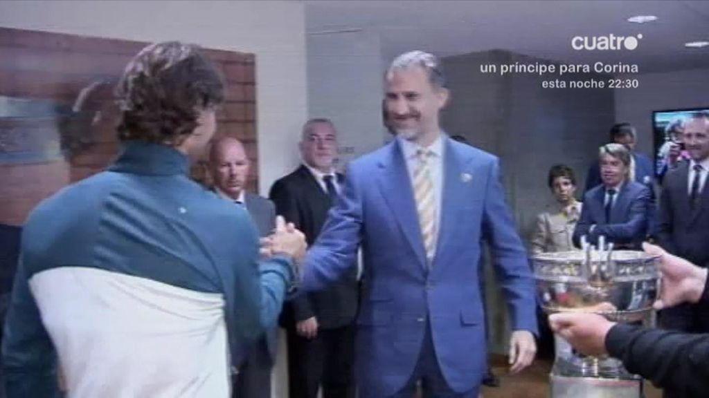¿Qué se dijeron Nadal y el Príncipe de Asturias?