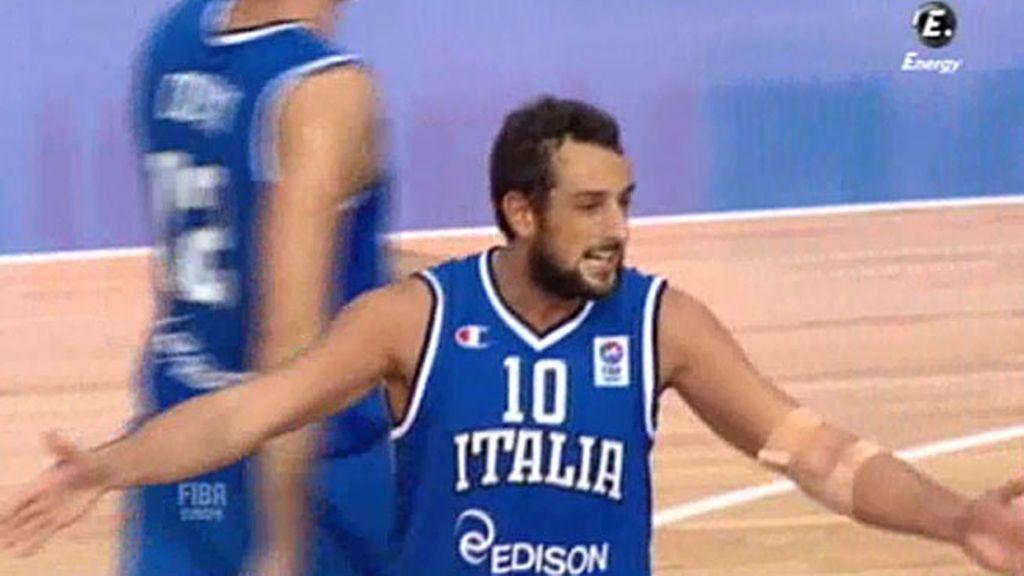 Belinelli sostiene a Italia ante Grecia