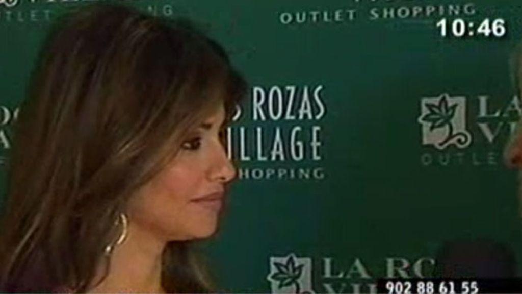 Mónica Cruz, indignada