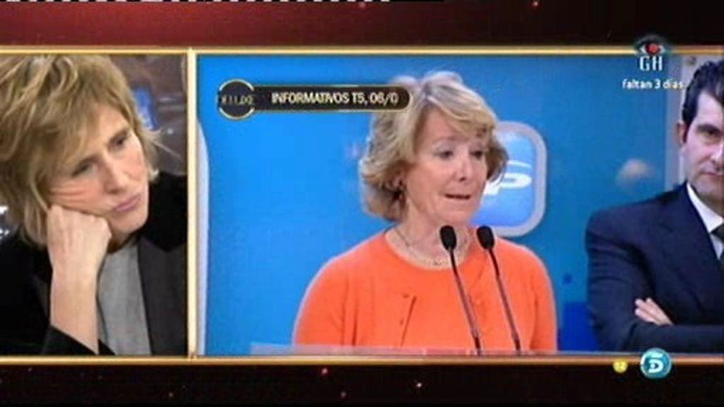 """Milá: """"¡Qué caradura tiene E. Aguirre!"""""""