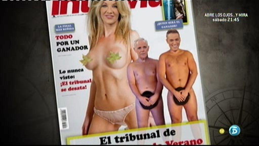 Nuestro jurado 'se desnuda' en Interviú