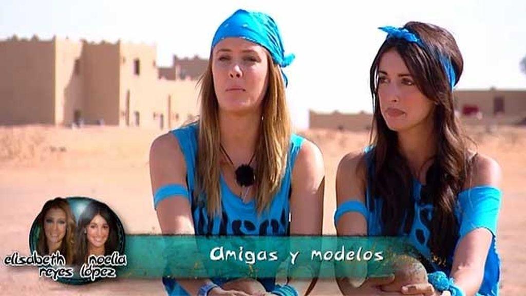 Equipo turquesa: Elisabeth y Noelia