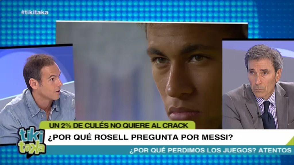 """Romero: """"El niño mimado de Rosell es Neymar, no Messi"""""""