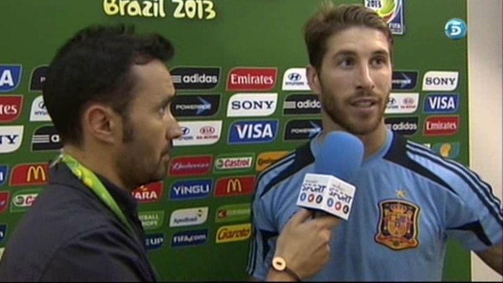 """Ramos: """"Son días en los que no sale nada"""""""