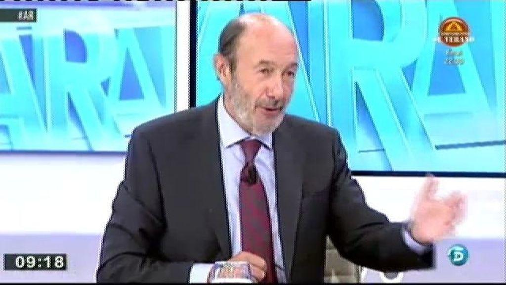 La solución que el PSOE propone al problema de Cataluña es el federalismo