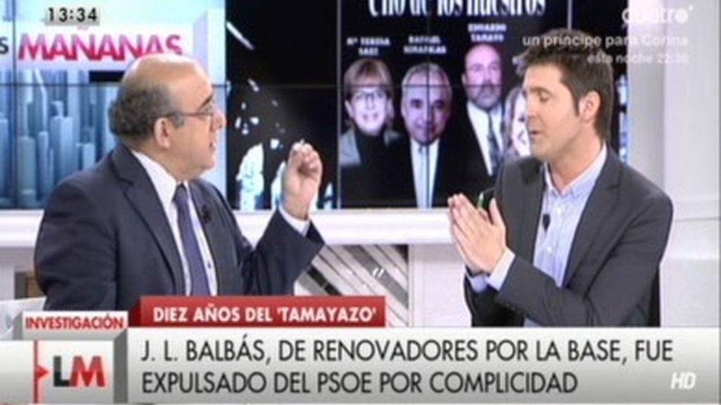 """Balbás: """"Todo el partido sabía que Tamayo y Sáez se iban a ausentar"""""""