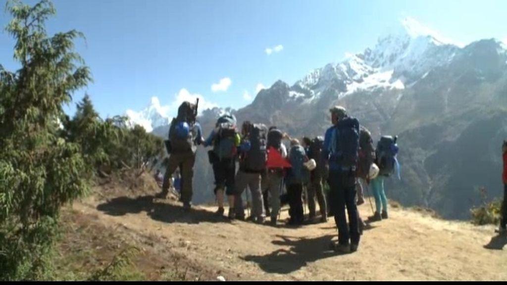 Con ustedes... ¡El Monte Everest!