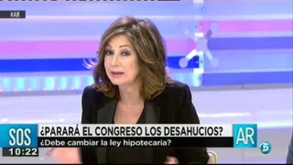 """Ada Colau: """"Somos el país que más desahucia y que más viviendas vacías tenemos"""""""