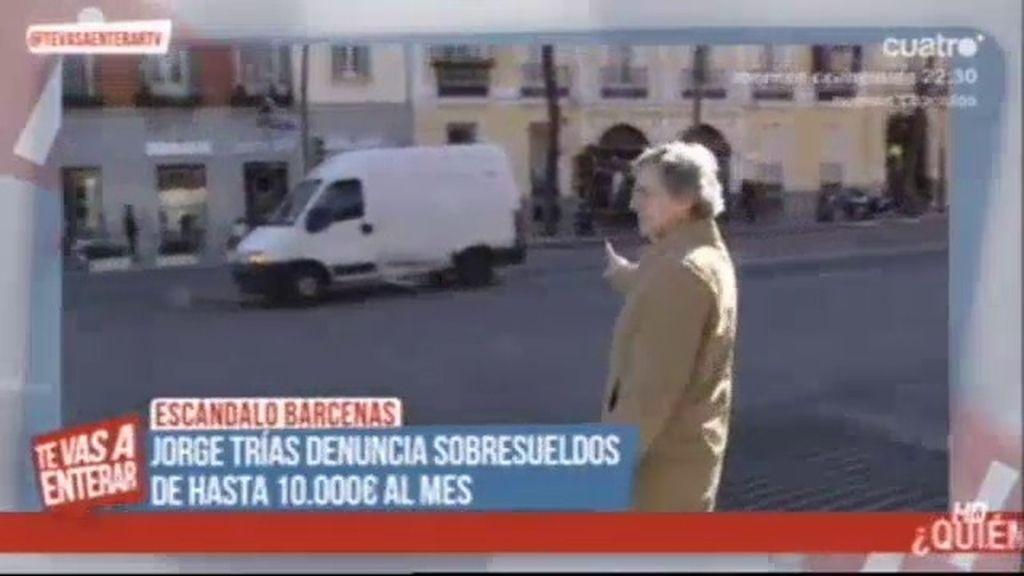 Jorge Trias denuncia sobresueldos de hasta 10.000 euros al mes