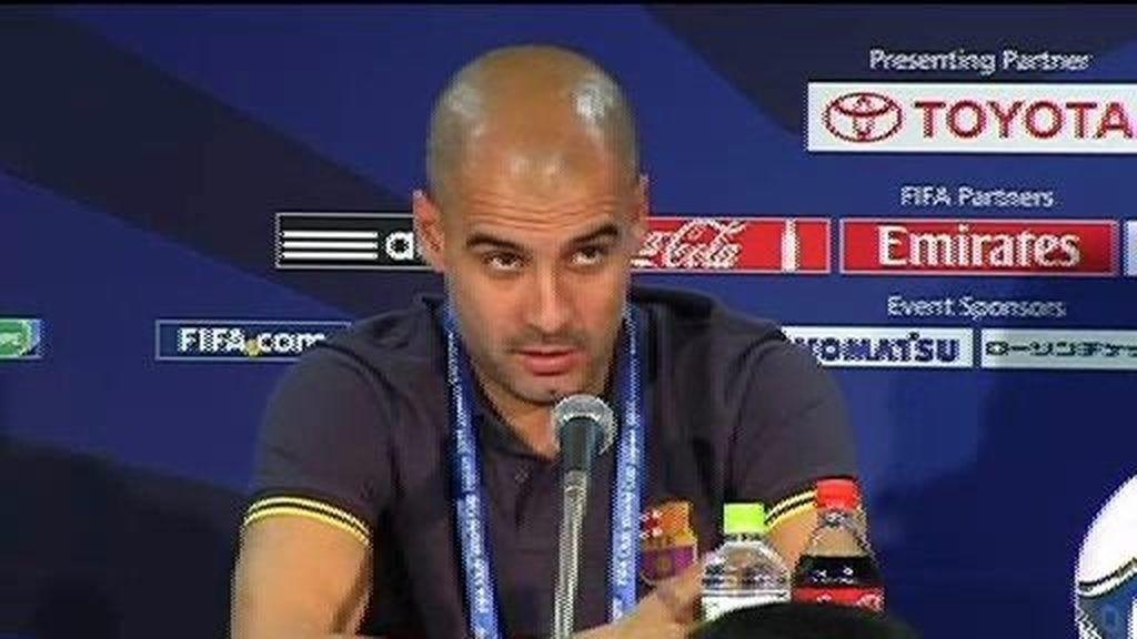 """Guardiola: """"Es el título que más ilusión me hace ganar"""""""