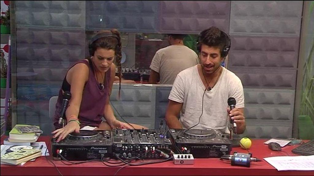 Susana toma el mando de 'Radio GH'